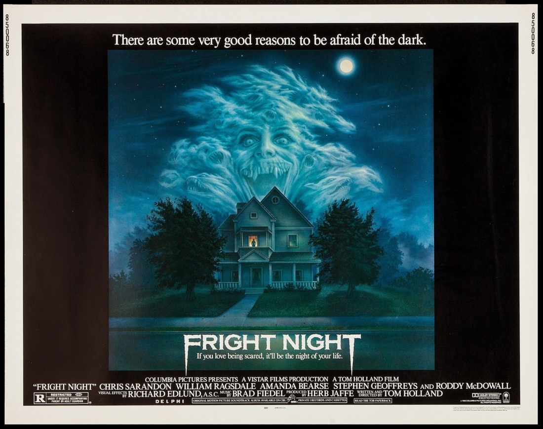 FRIGHT NIGHT - American Poster by Peter Mueller 2